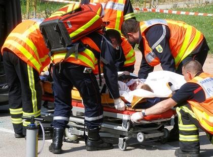 IAu service des pompiers et secours